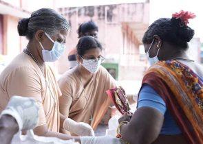April 2021: Indien ist aktuell besonders schwer von der Coronapandemie betroffen, das indische Gesundheitssystem ist zusammengebrochen. Caritas international verstärkt seine medizinischen Hilfen – im Fokus stehen dabei Pflege und Notversorgung der Covid-19-Patienten.  Copyright Caritas international